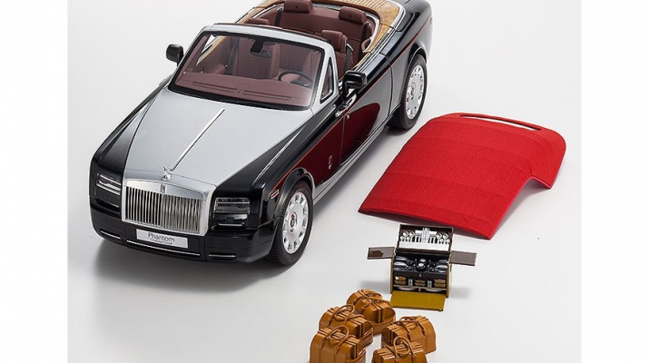 Rolls-Royce Phantom Drophead Coupe Series II (diamond black)