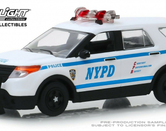 "FORD Explorer Police Interceptor Utility ""New York City Police Department"" (NYPD) 2013"