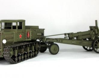 Коминтерн с гаубицей МЛ-20 (чистый)