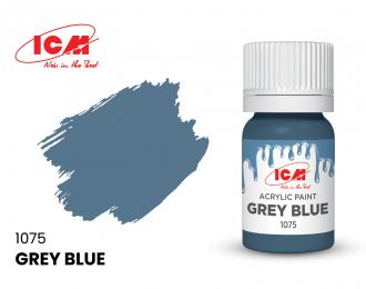 Краска для творчества, 12 мл, цвет Серо-синий(Grey Blue)