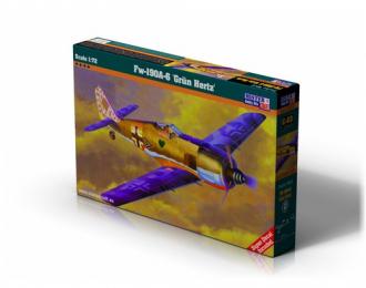 """Сборная модель Самолет Fw-190A-6""""Grun Hertz"""""""