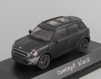 MINI COOPER S Countryman (2010), black matt