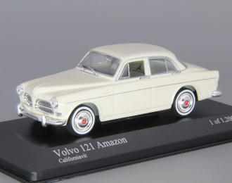 VOLVO 121 Amazon Sedan (1959), white