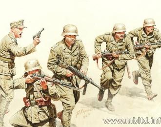Сборная модель Немецкая пехота, Африканский корпус
