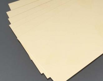 Латунь 0,12 мм, 1 лист 10х25 см