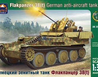 Сборная модель Немецкая ЗСУ Sd.Kfz 140 Ausf.L Flakpanzer 38(t) (Гепард)