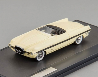 DODGE Firearrow II Concept Ghia Exner (1954), light yellow