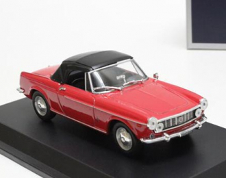 FIAT 1600 S Cabriolet, red
