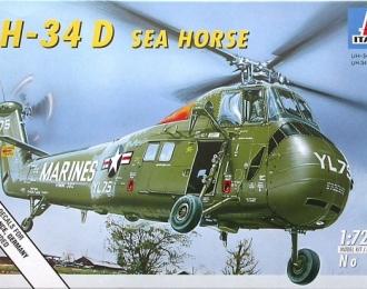 Сборная модель Американский транспортный вертолёт Sikorsky UH-34D Sea Horse