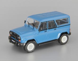 """УАЗ-3159 """"Барс"""", Автолегенды СССР 218, синий"""