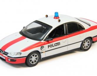 OPEL Omega Switzerland, Полицейские Машины Мира 61, белый