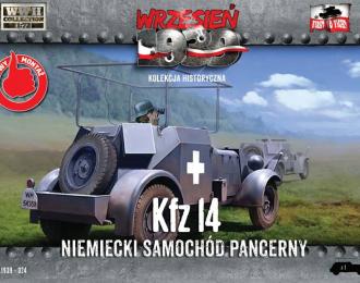 Сборная модель Немецкий разведывательный бронеавтомобиль Kfz.14