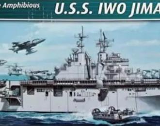 Сборная модель Американский десантный корабль-док USS IWO JIMA (LHD-7)