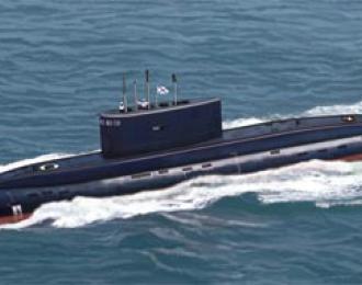 Сборная модель Kilo Type 636 Attack Submarine