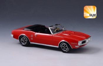 PONTIAC Firebird 400 Convertible (открытый)  1968 Red