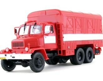 PRAGA V3S Container Truck 6х6 (1953), red