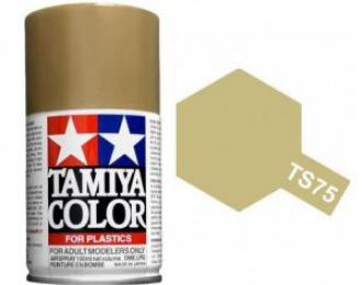TS-75 Champagne Gold (Шампанское золото) Аэрозольная краска 100 мл. (в баллоне)