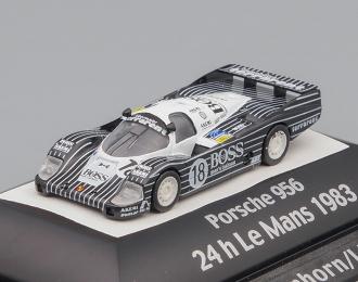PORSCHE 956 24h Le Mans (1983), black / white