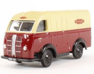 "AUSTIN K8 Van ""Way British Railways"" (1950), red / yellow"