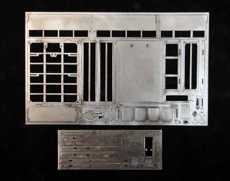 (ТрансКИТ) Самосвальный кузов для Саранский самосвал-2504 (с механизмом предварительного подъема)