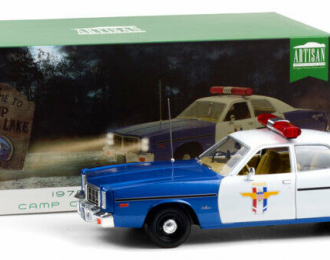"DODGE Monaco ""Crystal Lake Police"" 1978 Blue - White"