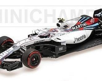 Williams Martini racing Mercedes FW41 Kubica free practice spanish GP 2018