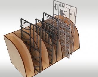 Модуль-органайзер для литников.