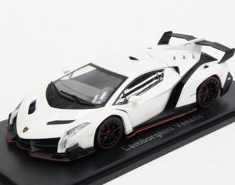 Lamborghini Veneno (white with white stripe)