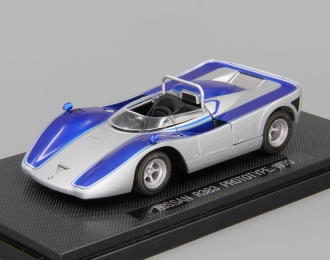 NISSAN R383 Prototype (1970), silver / blue