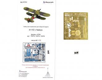 Набор фототравления для модели И-153 от ICM.