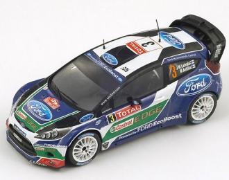 FORD Fiesta RS WRC 3 Monte Carlo 2012 J. M. Latvala – M. Anttila, blue