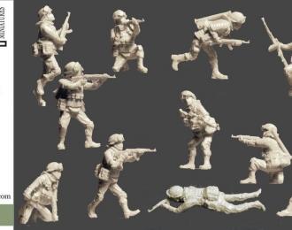 Сборная модель Мотострелки в атаке