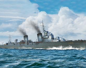 Сборная модель Корабль Russian Destroyer Taszkient 1940