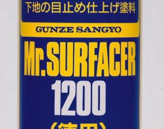 Грунтовка в аэрозольном баллоне Mr.SURFACER 1200 170мл