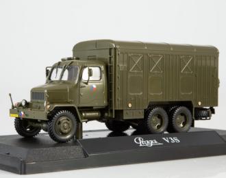 Praga V3S (1953), dark green