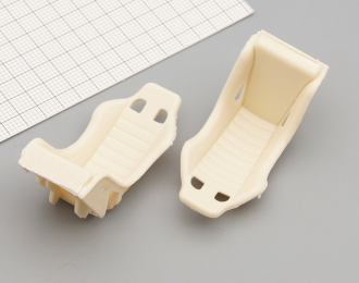Комплект спортивных сидений (ковши, масштаб 1:24), 2 шт.