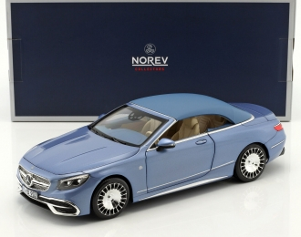 MERCEDES-MAYBACH S650 Cabriolet (W217) 2018 Blue Metallic