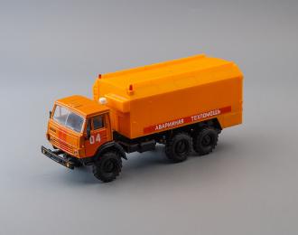 Камский грузовик 4310 Аварийная Техпомощь 04, оранжевый