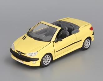 PEUGEOT 206 CC (откр. двери), yellow