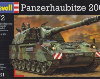 Сборная модель Немецкая самоходная гаубица Panzerhaubitze 2000