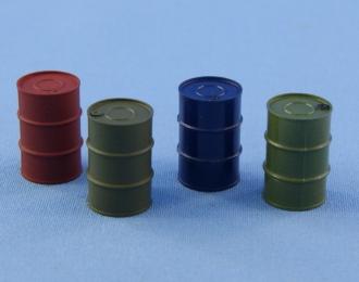 (KIT) Бочки металлические 200 л, комплект из 4 шт.