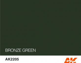 Краска акриловая BRONZE GREEN 17ML