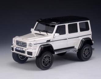 MERCEDES-BENZ G500 4x4 W463 (2015), metallic white