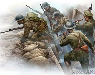 Сборная модель Британская пехота перед атакой