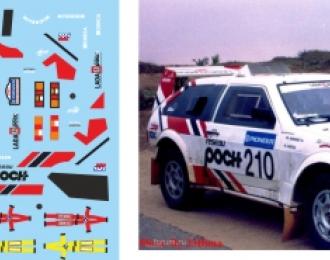 Набор декалей Волжский автомобиль Lada Samara T3 №213
