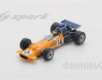 McLaren M14A #14 7th Italian GP 1971 Jackie Oliver