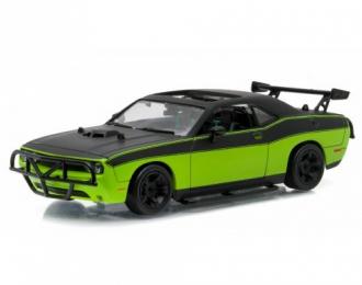 "DODGE Challenger SRT-8 Movie ""Fast & Furious 7"" (2014), green"