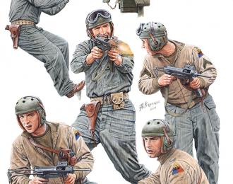 Сборная модель Close Combat. U.S. Tank Crew. Special Edition