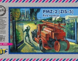 Сборная модель Пожарная автоцистерна ПМЗ-2 (ЗиС-5)