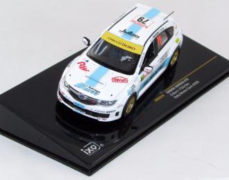 SUBARU Impreza No.79 Rally Monte Carlo (2008) Burri - Gordon, white